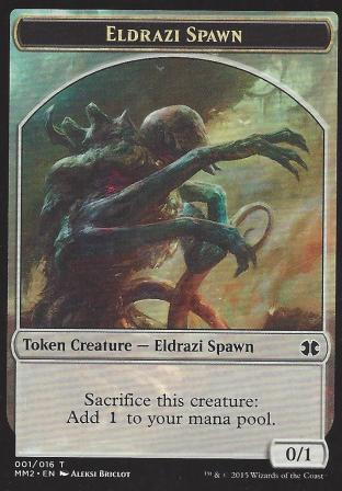 Eldrazi Spawn Token 1