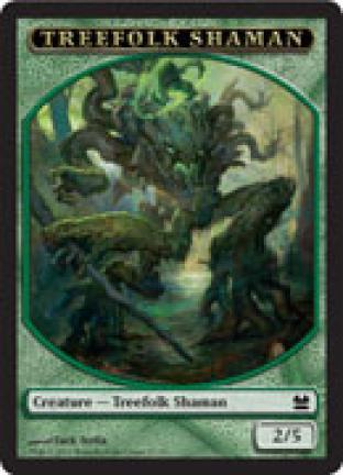 Treefolk Shaman Token