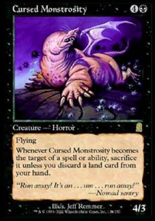 Cursed Monstrosity