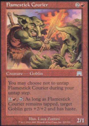 Flamestick Courier