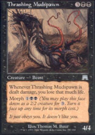 Thrashing Mudspawn