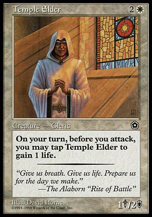 Temple Elder