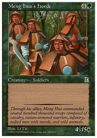 Meng Huo's Horde