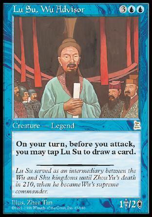 Lu Su, Wu Advisor