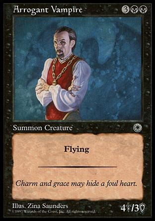 Arrogant Vampire