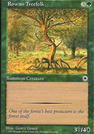 Rowan Treefolk