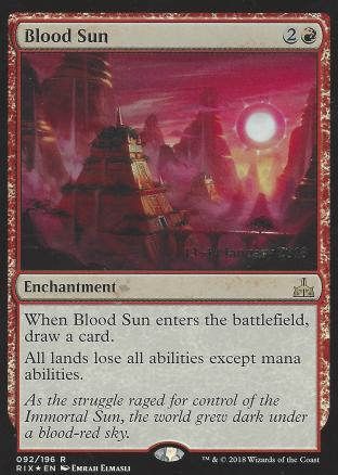 Blood Sun (Prerelease)