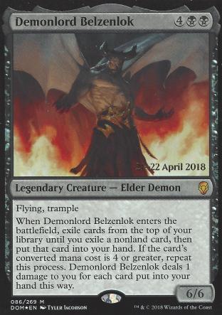 Demonlord Belzenlok (Prerelease)