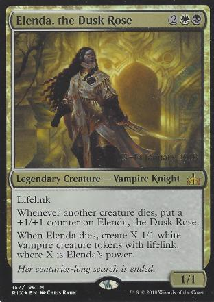 Elenda the Dusk Rose (Prerelease)
