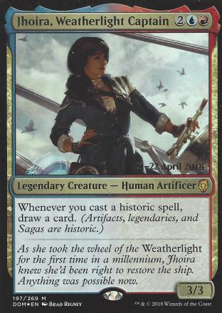Jhoira Weatherlight Captain (Prerelease)