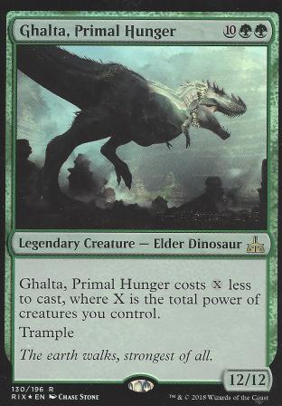 Ghalta Primal Hunger (Prerelease)