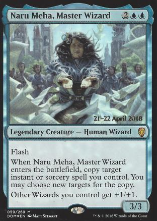 Naru Meha Master Wizard (Prerelease)