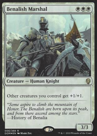Benalish Marshal (Prerelease)