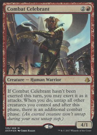 Combat Celebrant (Prerelease)