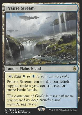 Prairie Stream (Alt Art)