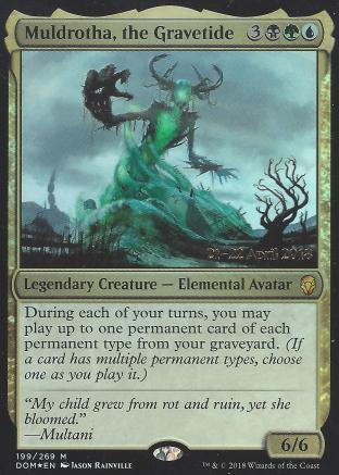 Muldrotha the Gravetide (Prerelease)
