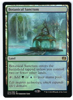Botanical Sanctum (Prerelease)