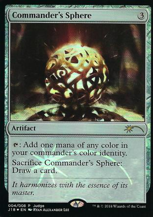 Commander s Sphere (Judge)