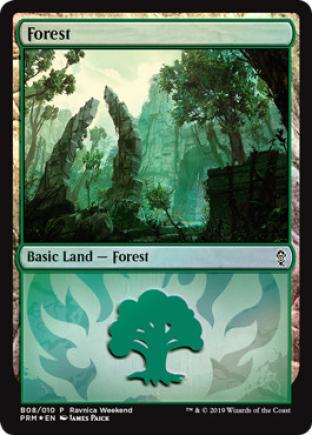 Forest Ravnica Weekend B08