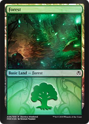 Forest Ravnica Weekend A06