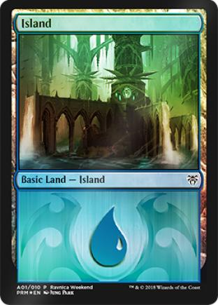 Island Ravnica Weekend A01