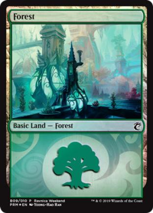 Forest Ravnica Weekend B09