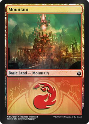 Mountain Ravnica Weekend A04