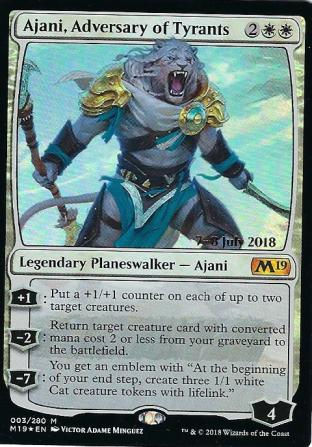 Ajani Adversary of Tyrants Prerelease
