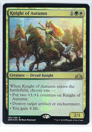 Knight of Autumn Prerelease