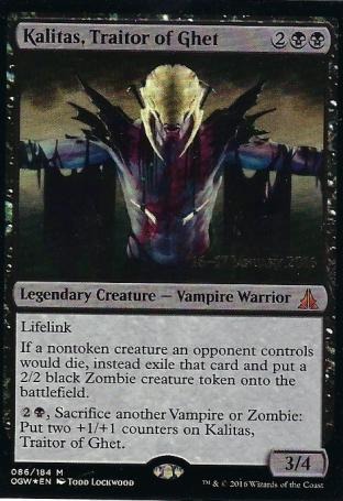 Kalitas Traitor of Ghet Prerelease
