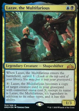 Lazav the Multifarious Prerelease