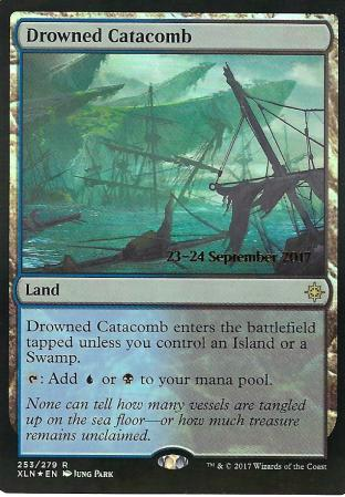 Drowned Catacomb Prerelease Ixalan