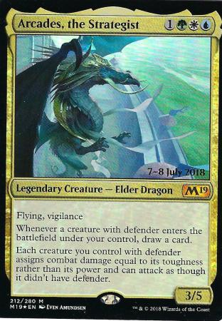 Arcades the Strategist Prerelease Promo