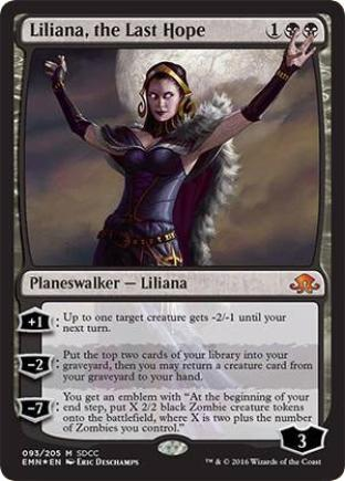 Liliana the Last Hope (SDCC 2016)
