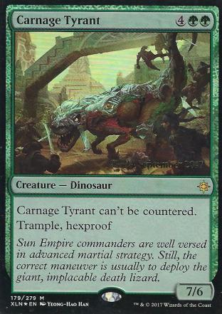 Carnage Tyrant Prerelease