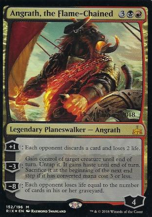 Angrath the Flame-Chained Prerelease