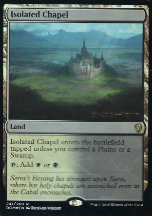 Isolated Chapel Prerelease