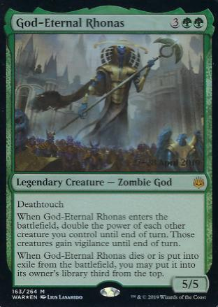 God-Eternal Rhonas Prerelease