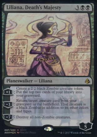 Liliana Death s Majesty (SDCC 2017)
