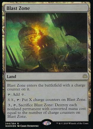 Blast Zone Prerelease