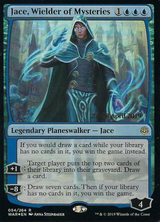 Jace Wielder of Mysteries Prerelease