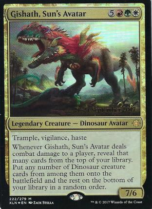 Gishath Sun s Avatar Prerelease