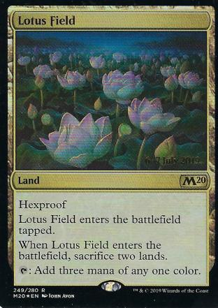 Lotus Field Prerelease