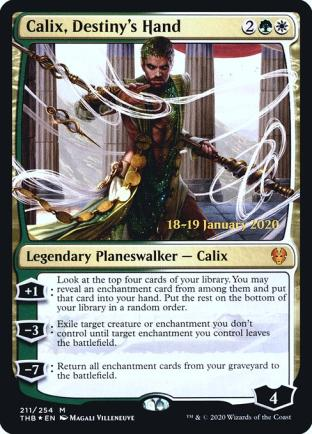 Calix Destiny s Hand (Prerelease)