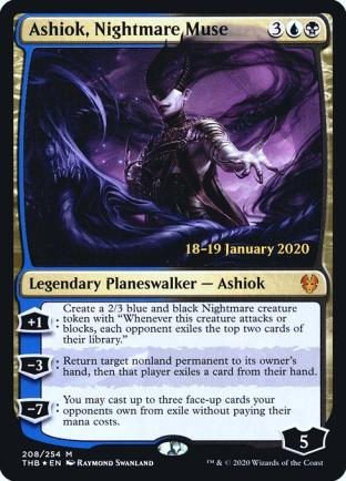 Ashiok Nightmare Muse (Prerelease)