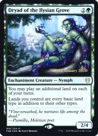 Dryad of the Ilysian Grove (Prerelease)