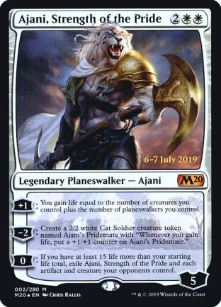 Ajani Strength of the Pride (Prerelease)