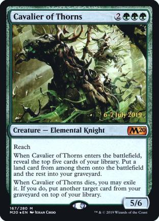Cavalier of Thorns (Prerelease)