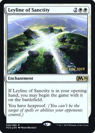 Leyline of Sanctity (Prerelease)