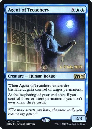 Agent of Treachery (Prerelease)